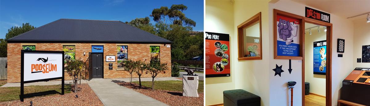 Pooseum Richmond Tasmania exterior